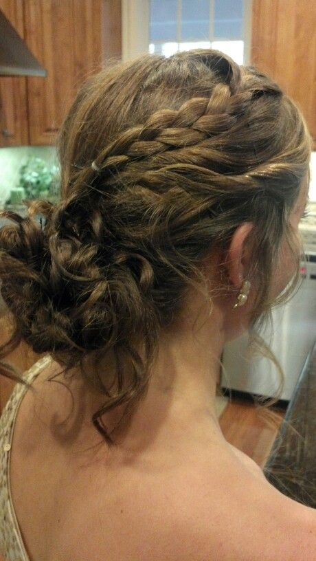 Prom Hairstyles Braids Curls Quotes