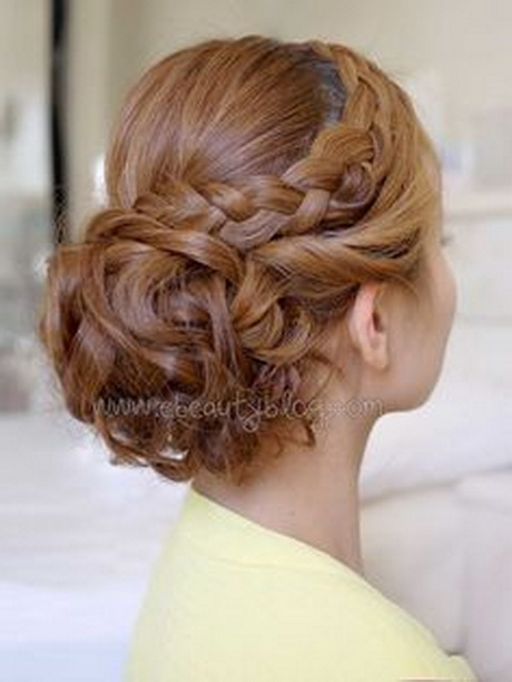 Bridal Curly Updo with Braids #Christmas #thanksgiving #Holiday #quote ...