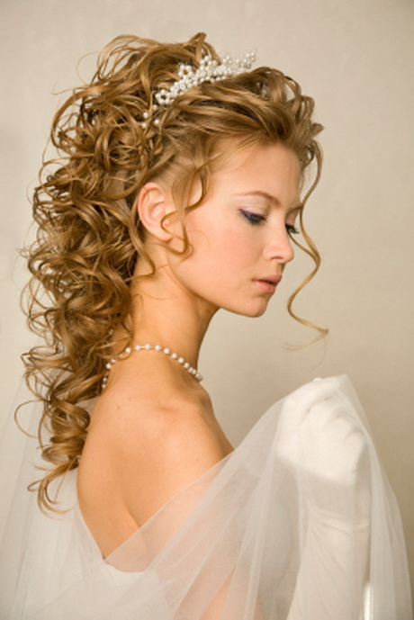 Wedding Hairstyles Curly Updos for Long Hair