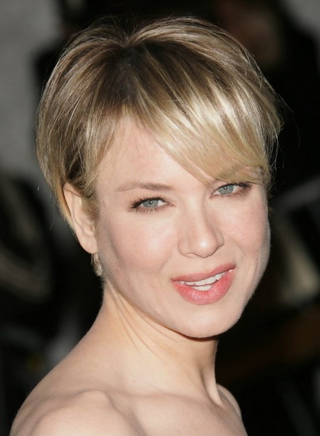 Beautiful Latest Popular Short Straight Hairstyle With Long Bangs