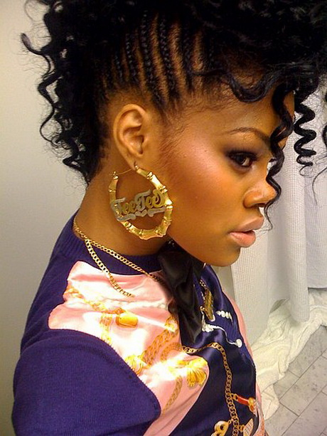 hairstyles cute weave awesome curly friday uploaded november