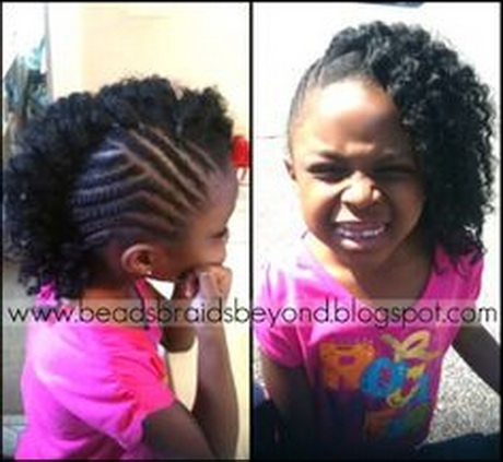 cute braided hairstyles for natural hair : ... hairstyles for black girls. Some girls have fine curling in short hair