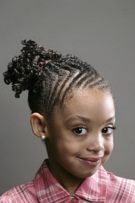 Cute Braided Hairstyles Little Black Girls