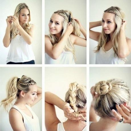 Cute Bun Hairstyles For Long Hair