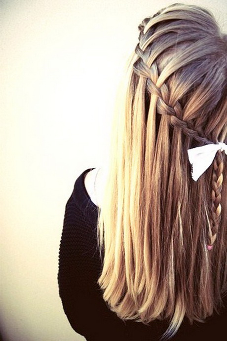 Hairstyles Everyday : The third in our list of 5 super-easy everyday hairstyles is waterfall ...