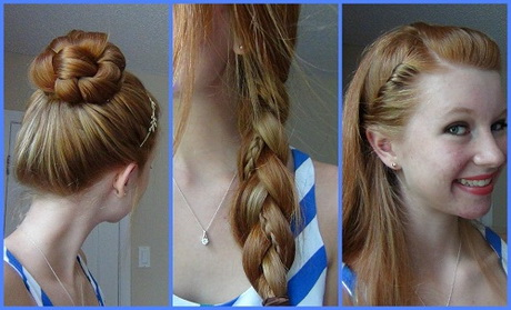 Wonderful And Cute Hairstyles Are You Looking For Fast Easy And Cute Hairstyles
