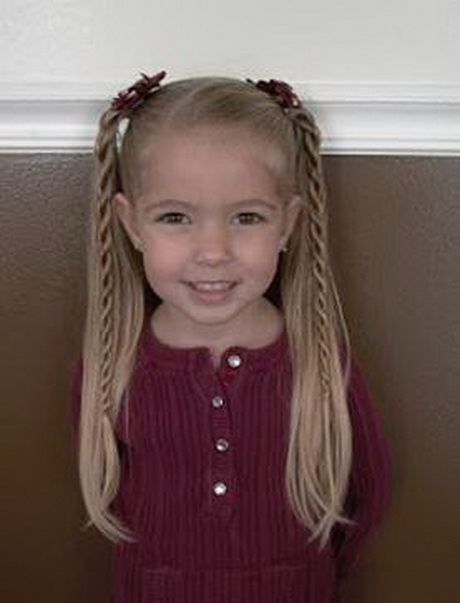 Popular Ideas For Little Girls Hairstyles  Glamy Hair