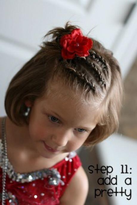 cute little girl haircuts for short hair
