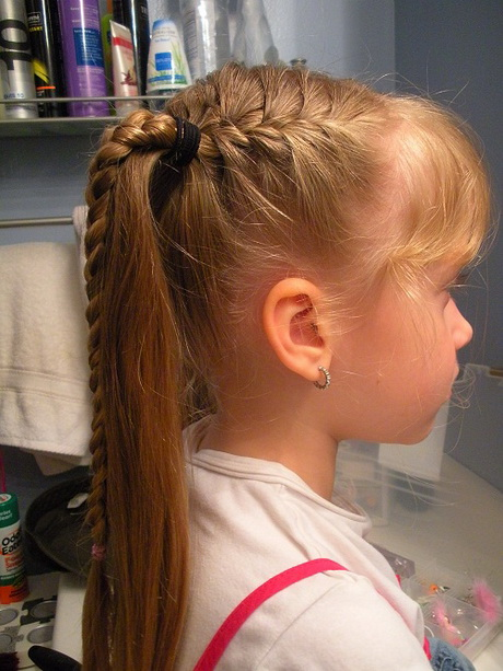 Cute  hairstyles  for short hair for kids