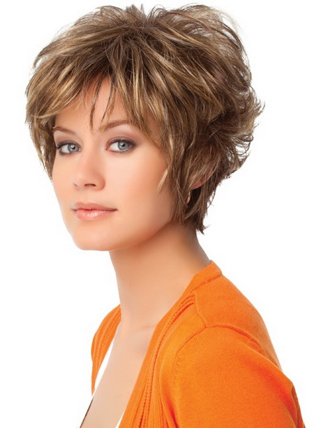 Gallery of the selection of concepts in hairstyles for short naturally