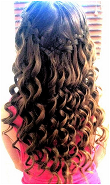 Cute Hairstyles For School With Curls : Cute school hairstyles for long hair
