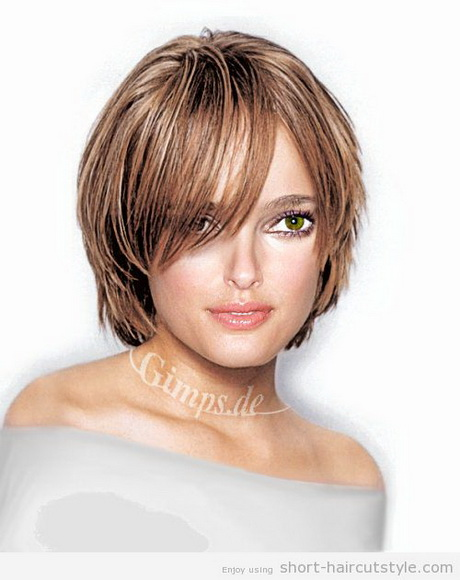 Cute short hairstyles for teenage girls