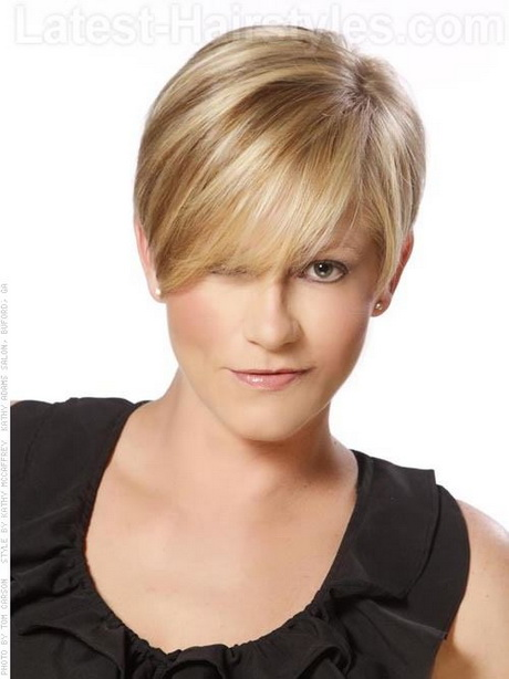 Cute short hairstyles for thin hair