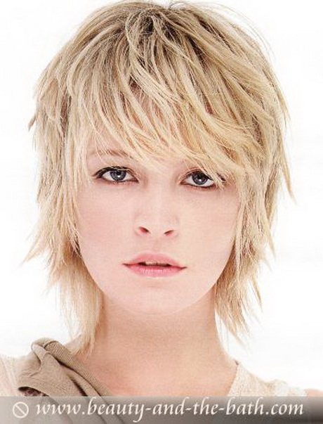 Very Short Choppy Layered Hairstyles