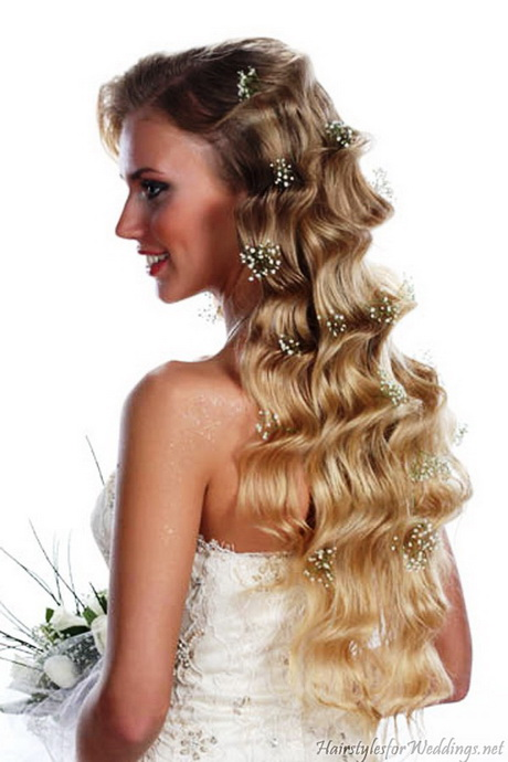 ... Hairstyles For Long Curly Hair also Simple But Elegant Hairstyle. on