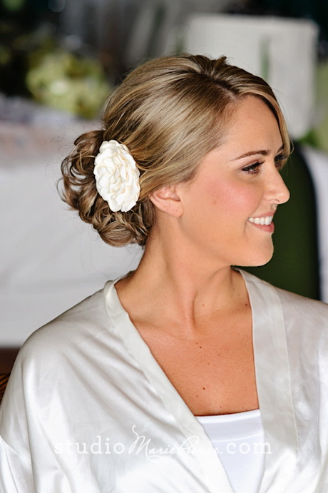 Destination wedding hair