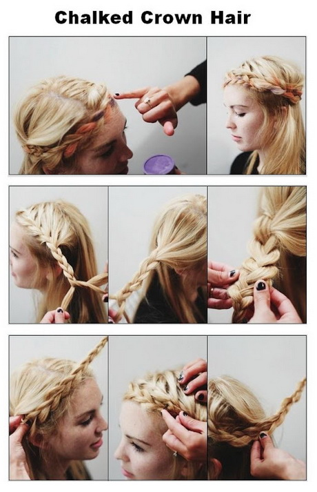 Hairstyles for curly hair diy : Diy curly hairstyles
