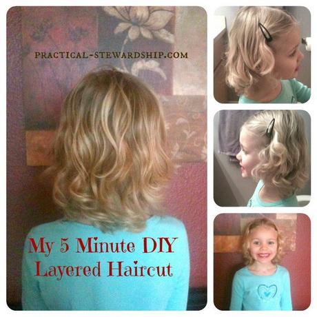 Diy  layered  haircut