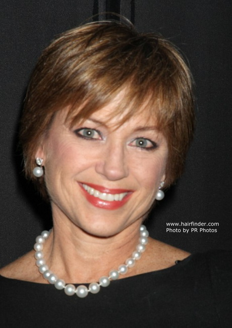 to Care for Hairstyle. Former ice skating queen Dorothy Hamill