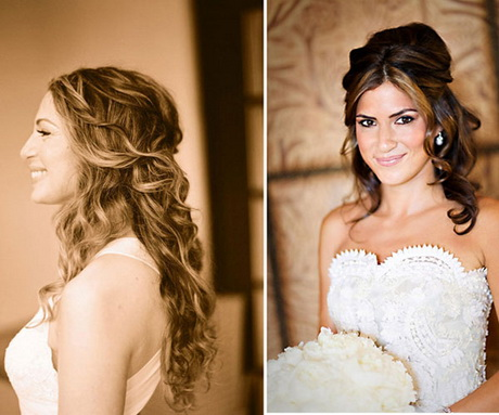 down wedding hairstyles for long hair. Black Bedroom Furniture Sets. Home Design Ideas