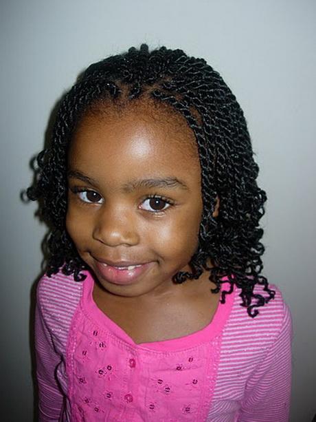 easy braid hairstyles for kids : Easy black girl hairstyles