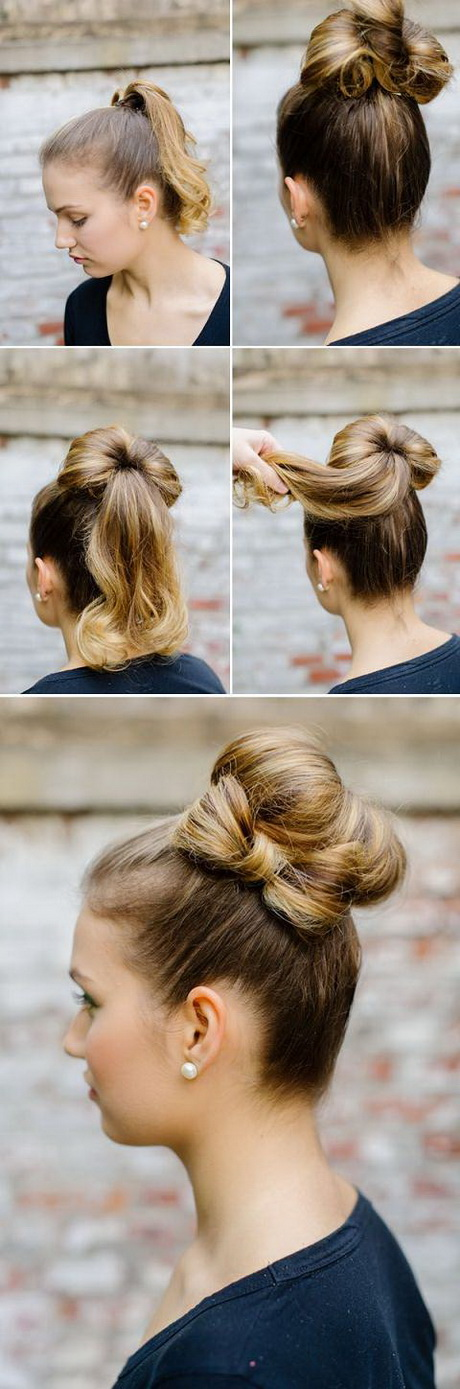Perfect Pics Photos  Bun Hairstyles For Long Hair Tutorial Eas