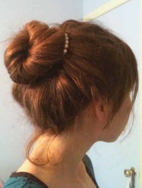 Easy Bun Hairstyles For Long Hair