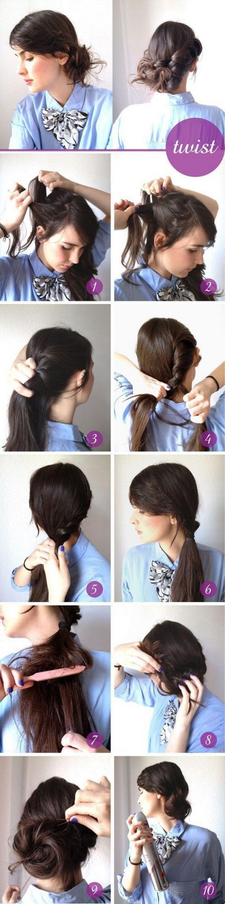 Luxury Easy Do It Yourself Prom Hairstyles