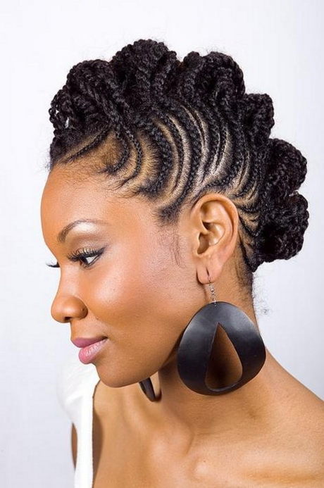Easy To Manage Hairstyles For Long Hair : Easy hairstyles for black women