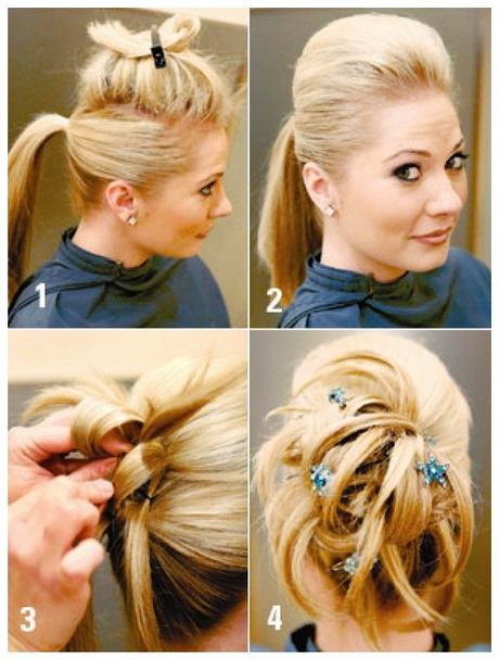 Easy To Do At Home Hairstyles For Prom Pictures to pin on Pinterest