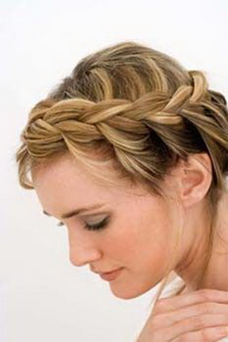 Simple Hairstyles For Prom : Easy prom hairstyles for medium hair