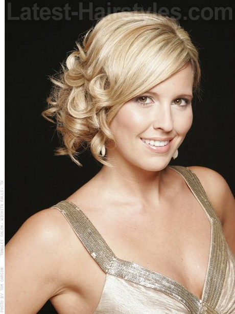Easy Hairstyles For Medium Hair Formal : Easy prom hairstyles for short hair