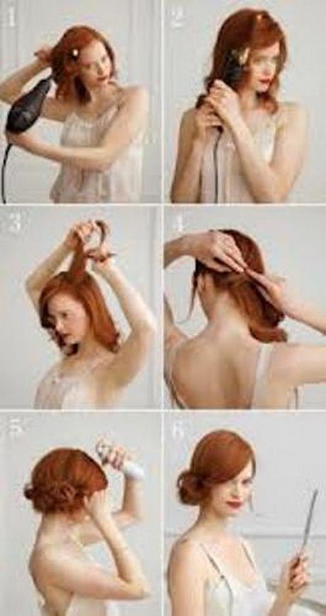 Простые прически для средних волос на каждый день своими руками фото пошагово 102