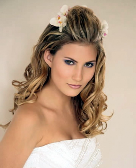 Bridal Hairstyles Long Hair : Easy wedding hairstyles long hair