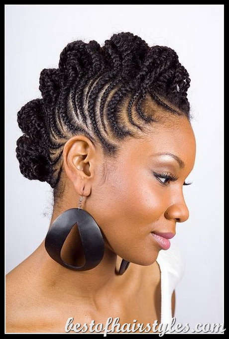 Ebony Short Hairstyles