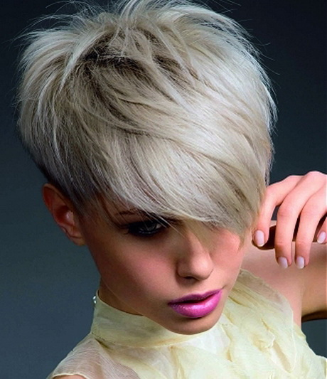 Women with very feminine facial features can use short edgy hairstyles ...