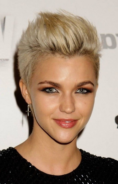 Short Edgy Hairstyles 2016