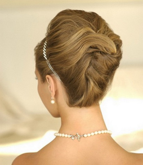 Elegant updos for wedding - photo #12
