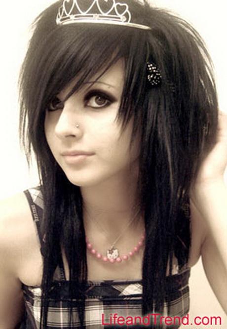 Emo Layered Haircut
