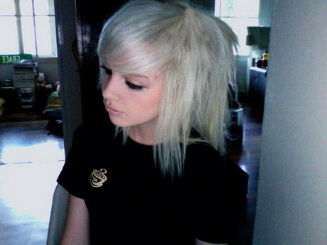 Short girl gif Cute blonde hair