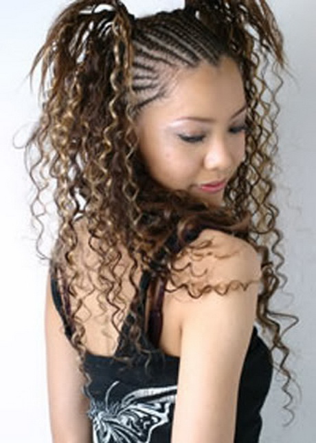 Ethnic Braided Hairstyles