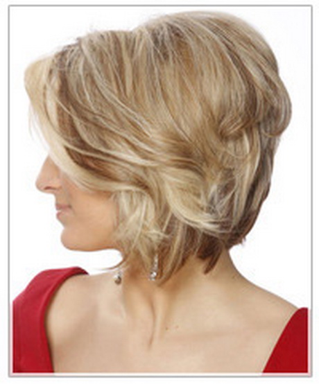 Hairstyles For Short Hair Evening : This hairstyle for short hair boasts just enough volume and bounce to ...