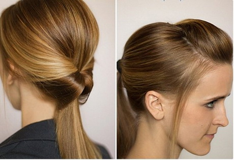 The perfect hairstyle for girls with straight hair. If curly hair use ...