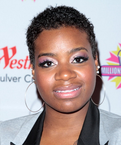 Fantasia Barrino Short Curly Hairstyle …