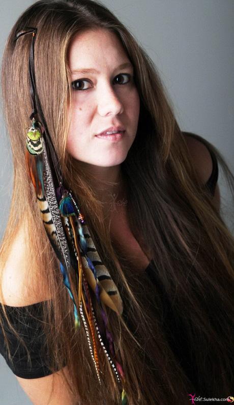 Feather Hair Styles