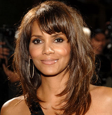 Halle Berry Layered Hairstyle
