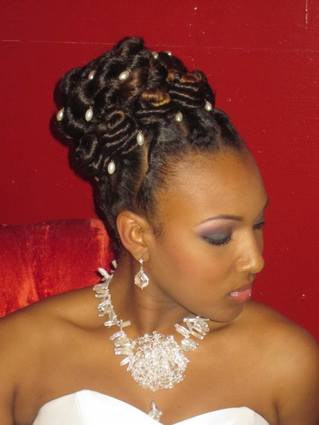 Flat Twist Updo Hairstyles for Black Women