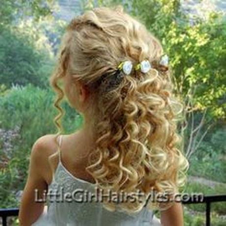 Flower Girl Hairstyles For Long Hair