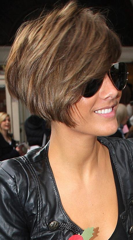 Frankie Sandford Haircut