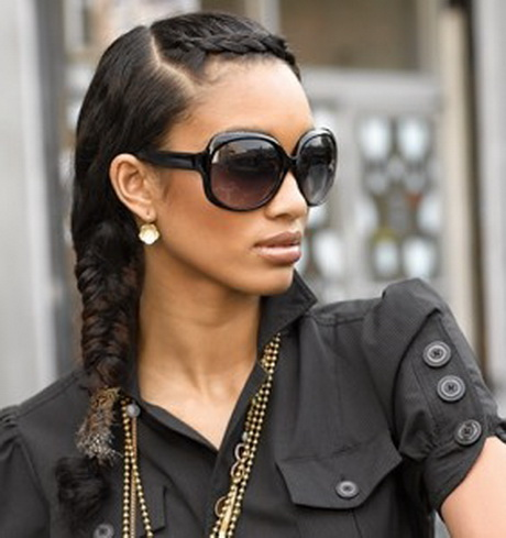 french braid hairstyles black hair